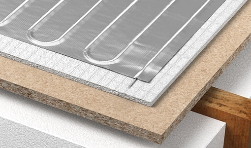 foil underfloor heating